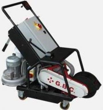 Masina de frezat caneluri tabla cu disc G300 de la Proma Machinery Srl.