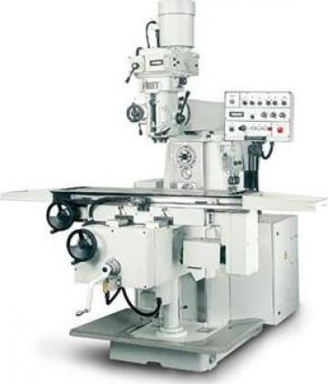 Masina de frezat universala LC-5G de la Proma Machinery Srl.