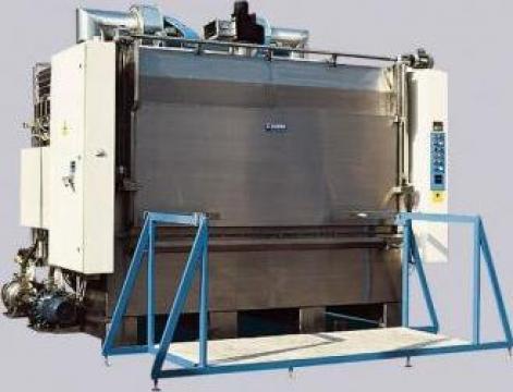 Masina de spalat, degresat piese cabina WIP de la Proma Machinery Srl.