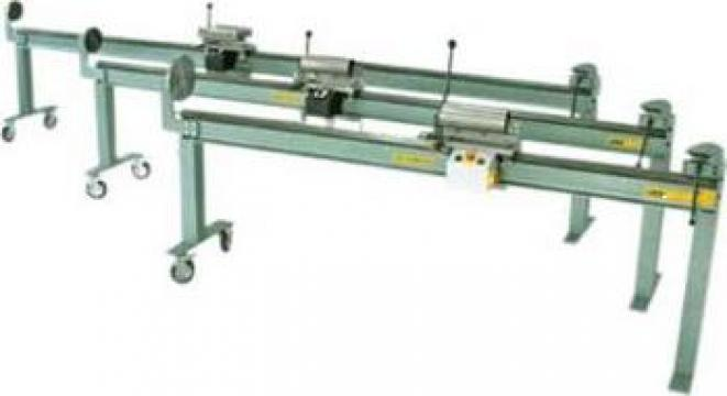 Masina electrica pentru inchis falt burlane LIF-6000 de la Proma Machinery Srl.
