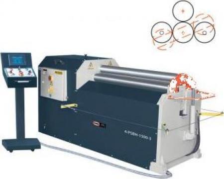 Masini hidraulice de roluit tabla cu 4 valturi 4-PSBH-1000-1 de la Proma Machinery Srl.