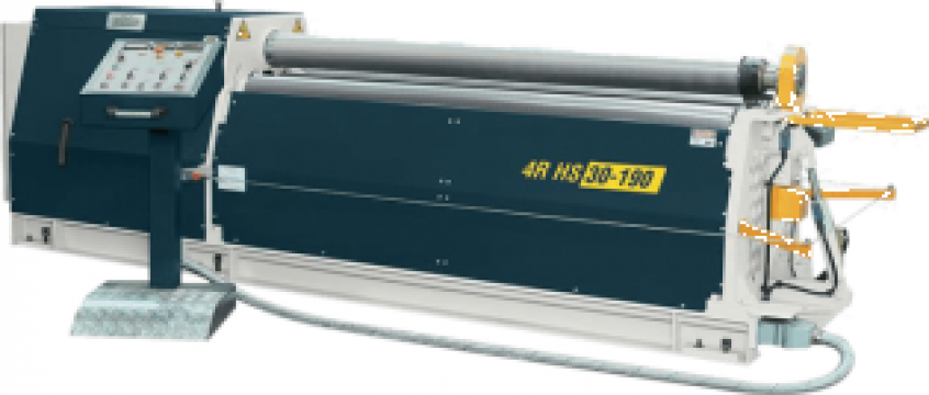 Masini hidraulice de roluit tabla cu 4 valturi 4R HS 25-245 de la Proma Machinery Srl.