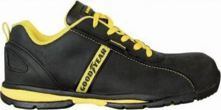 Pantof protectie piele cu bombeu metalic G3054 de la Proma Machinery Srl.