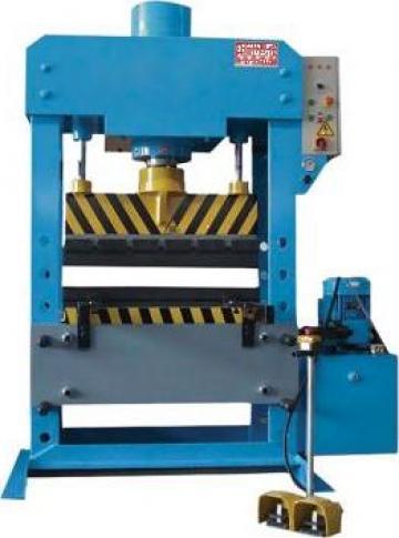 Presa hidraulica pentru atelier mecanice HPB/100 de la Proma Machinery Srl.