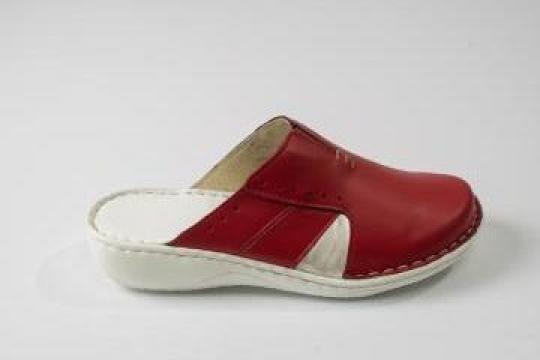 Papuci dama inchisi din piele Marikandy 7012