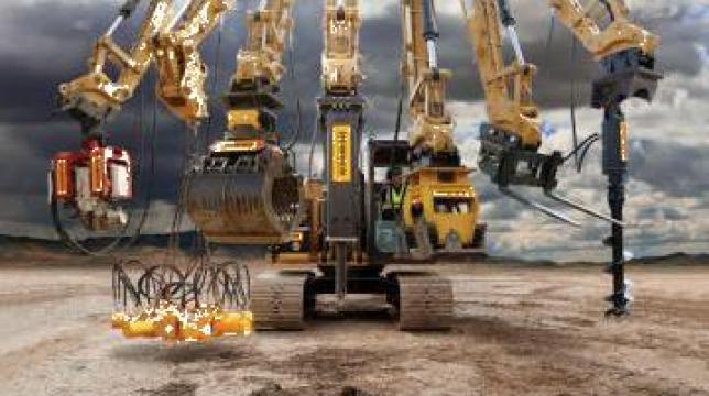 Atasamente utilaje de constructii de la Terra Parts & Machinery Srl