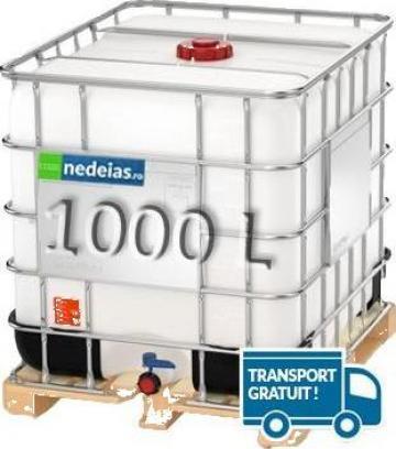 Rezervor suprateran cubic IBC 1000 L (nou) de la Nedeias Com Srl
