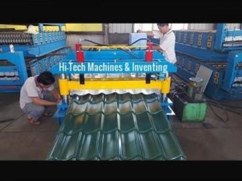 Tigla din tabla de la Hi-tech Machines & Inventing
