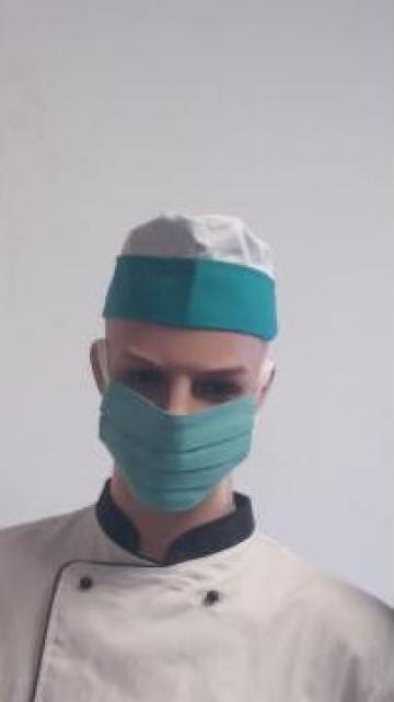 Masca reutilizabila de protectie din bumbac