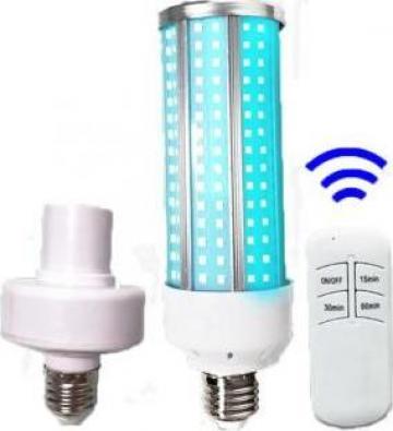 Bec leduri ultraviolete sterilizare UVC 60W cu telecomanda de la Joboloct Srl