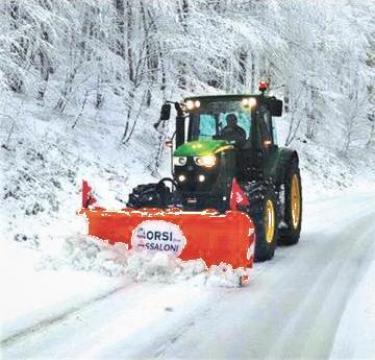 Lama zapada pentru tractoare de la Progema Forest Srl