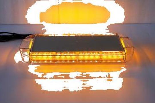 Girofar auto cu led galben 56cm de la Trolii-auto.ro