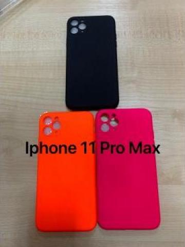 Husa silicon iPhone 11 Pro Max de la Gadget Trade Company