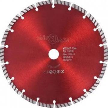 Disc diamantat de taiere cu turbo otel 230 mm
