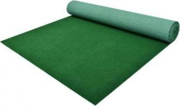 Gazon artificial cu crampoane, verde, 2x1,33 m, PP de la Vidaxl