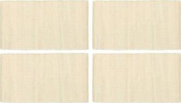 Naproane, 4 buc., chindi, crem, 30 x 45 cm, bumbac
