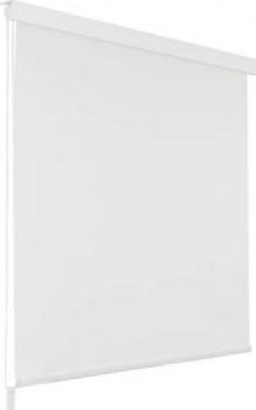 Roleta perdea de dus 140x240 cm, alb