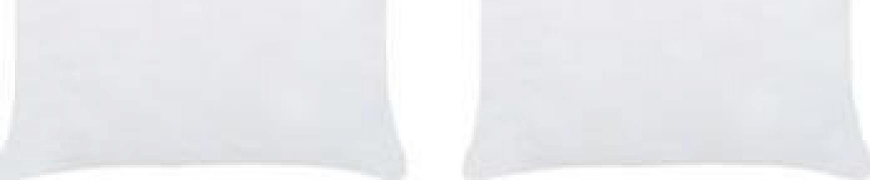 Umpluturi de perna, 2 buc., alb, 60 x 60 cm de la Vidaxl