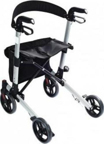 Cadru ajutator pentru mers cu roti pliabil pentru exterior de la Davo Pro Company Srl