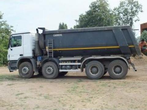 Inchiriere camion 18mc, basculante 8x4, autobasculanta 8x4 de la Trans Udroiu Srl