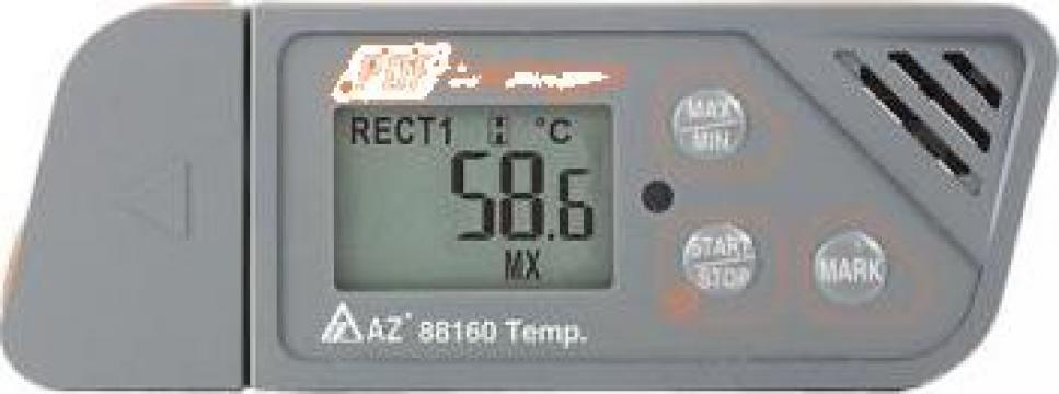 Inregistrator de temperatura cu USB si raport PDF 88160