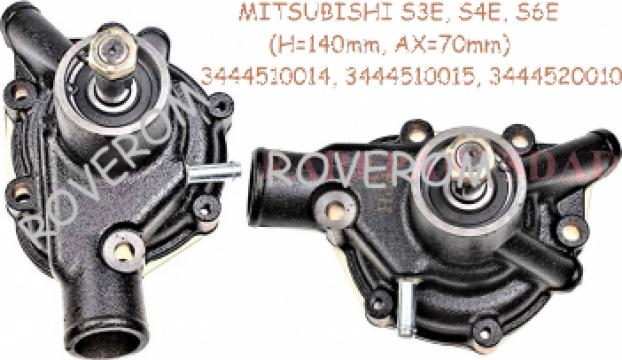 Pompa apa Mitsubishi S3E, S4E, S6E, S6E2 (H=140mm, ax=17mm)