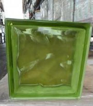 Caramida sticla galben-verzui de la Geo & Vlad Com Srl