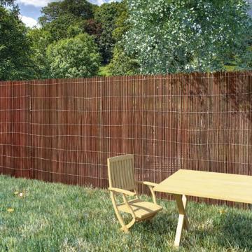 Gard din salcie, 5 x 1 m de la Vidaxl