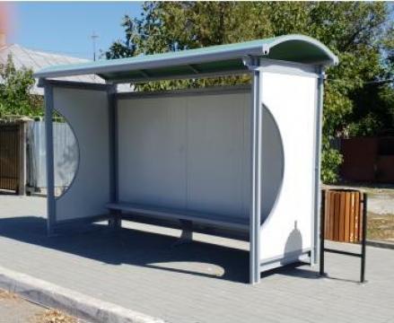 Statie de autobuz din structura metalica de la Urban Biaplus AVR Srl