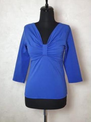 Bluza tricot cu nod BT1001A de la Sc Blu Art Design Srl