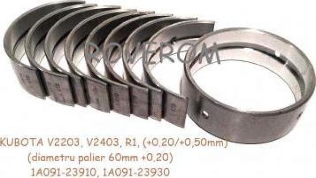 Cuzineti palier R1 (+0.20/+0.50mm) Kubota V2203,V2403 (60mm) de la Roverom Srl