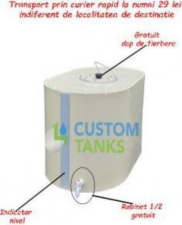 Butoi polipropilena 500 litri de la Custom Tanks Srl