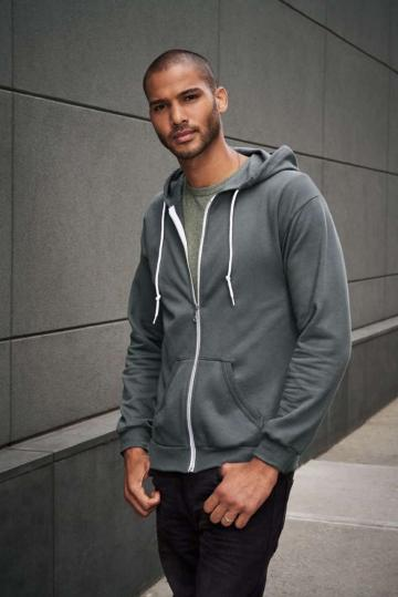 Bluza barbati Adult Full-Zip Hooded Sweatshirt de la Top Labels