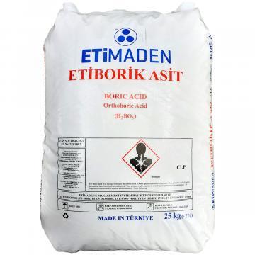 Acid boric 99,9% - sac 25 kg de la Sirius Distribution Srl