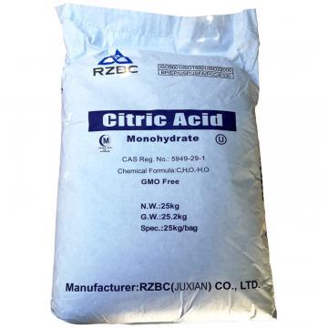Acid citric monohidrat - sac 25 kg de la Sirius Distribution Srl