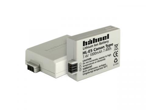 Acumulator Hahnel HL-E5 Canon LP-E5 1000mAh de la Color Data Srl