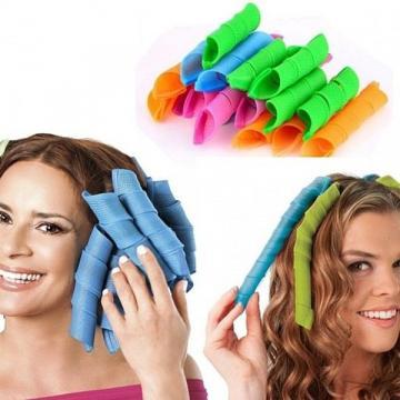 Bigudiuri spiralate Hair Wavz pentru bucle definite