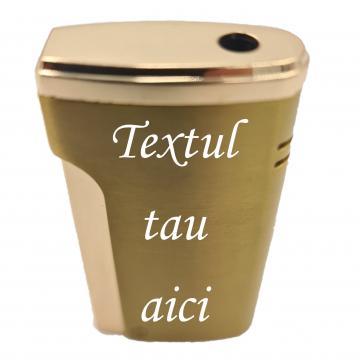 Bricheta metalica personalizata cu textul tau, gaz de la Dali Mag Online Srl