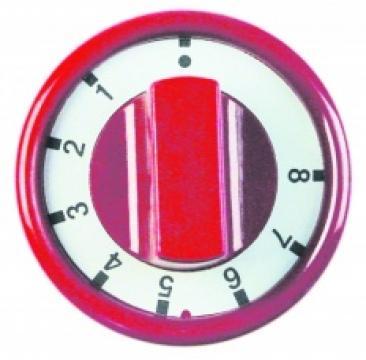 Buton rosu 76mm 1-2-3-4-5-6-7-8, 3241821