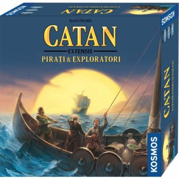 Joc Catan extensie Pirati Exploratori 2-4 jucatori de la Chess Events Srl