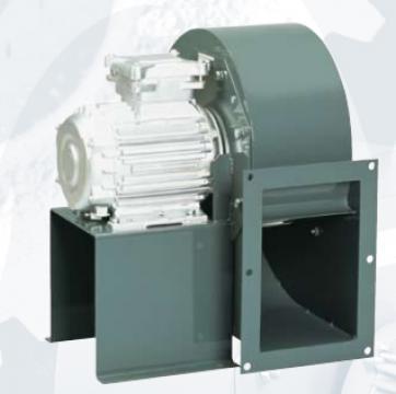 Ventilator centrifugal 400 grd CHMT/4- 225/090-0,55 de la Ventdepot Srl