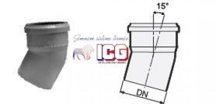 Cot polipropilena pentru canalizare D.32mm la 15 de la ICG Center
