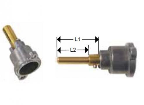 Cap robinet gaz PEL 21 lungime ax 31/15mm de la Kalva Solutions Srl