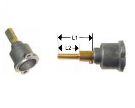 Cap robinet gaz PEL 22 lungime ax 29/19.5mm de la Kalva Solutions Srl