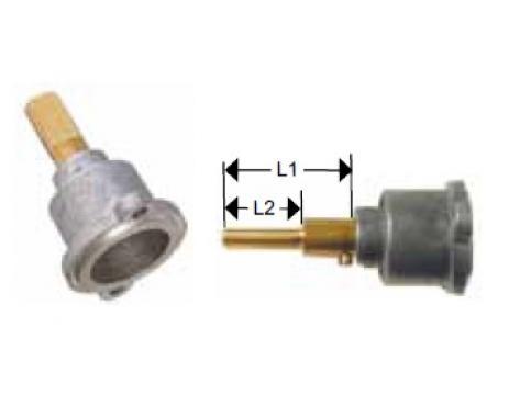Cap robinet gaz PEL 23, lungime ax 25/17mm de la Kalva Solutions Srl