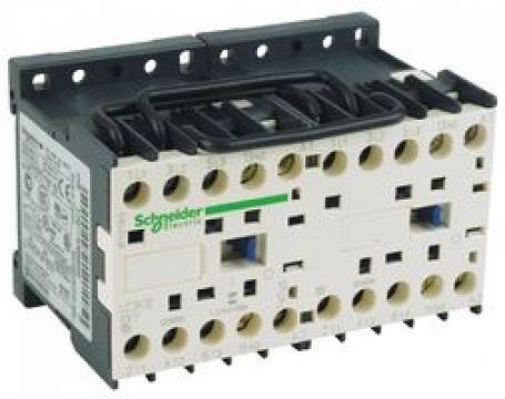Contactor reversibil 5.5kW, 12A, 1NO, 110V