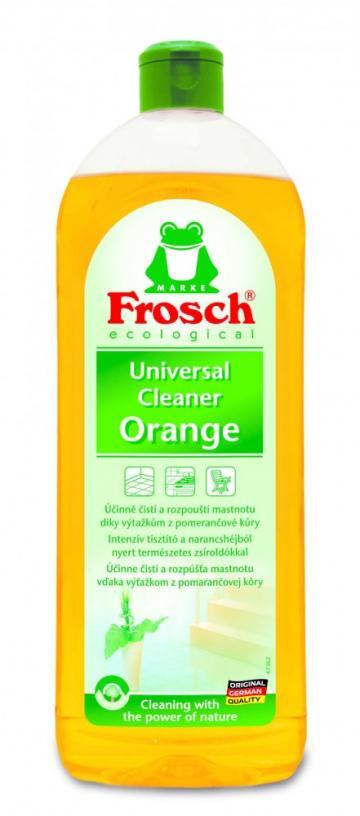 Detergent curatitor general portocale 750ml Frosch