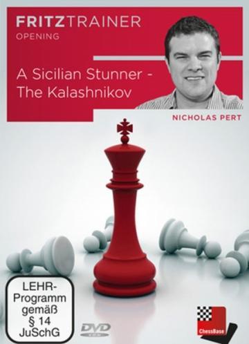 DVD A Sicilian Stunner - The Kalashnikov - Nicholas Pert de la Chess Events Srl
