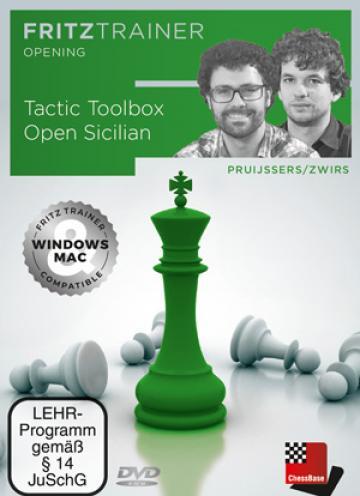 DVD : Tactic Toolbox Open Sicilian - Pruijssers / Zwirs de la Chess Events Srl