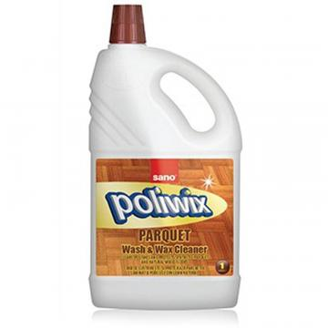 Detergent pardoseli cu ceara naturala Sano Poliwix Parquet